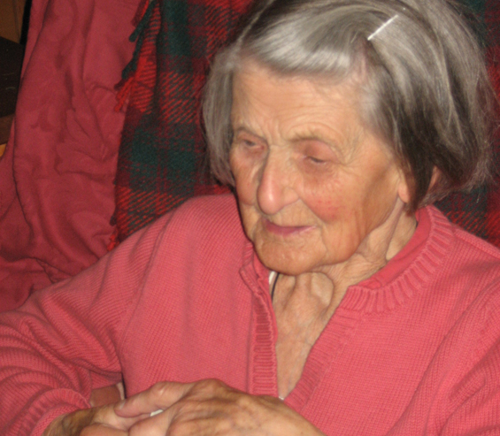 Vachana at her 87th birthday party