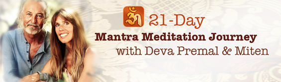 21-day Mantra Meditation Journey with Deva and Miten