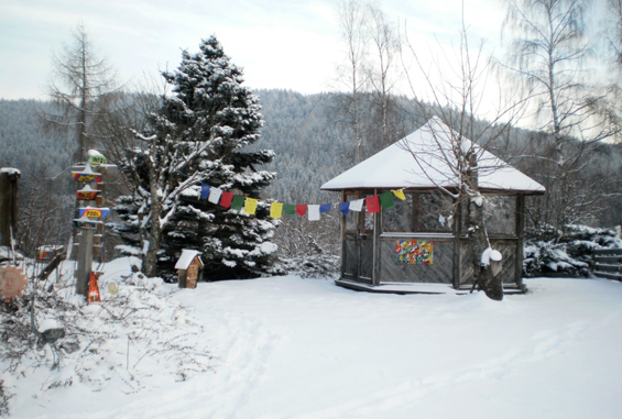 Osho Meditation Oasis Greith in winter