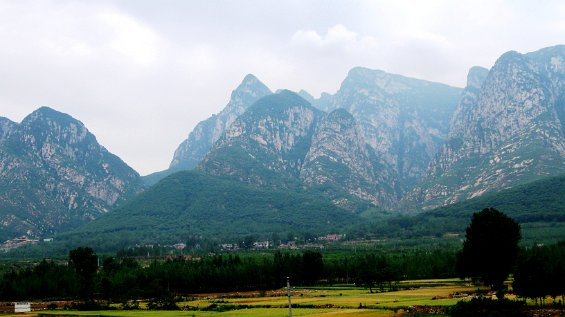 the foothills of Songmountain