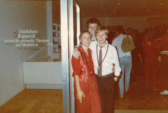 Dwari and finance crew, 1984
