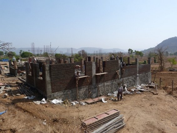 building the girls home