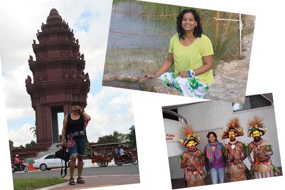 Anjali travelling