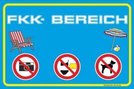 FKK sign