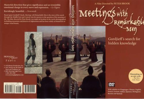 Meetings with Remarkable Men - Gurdjieff