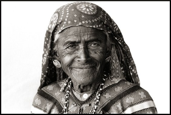 Zura Village Woman 1, Kutch