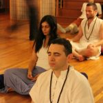evening meditation at Osho Padma 2012