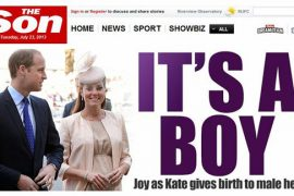 The Son - it's a boy!