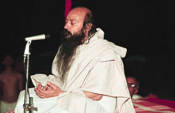 Osho dicourse closed eyes