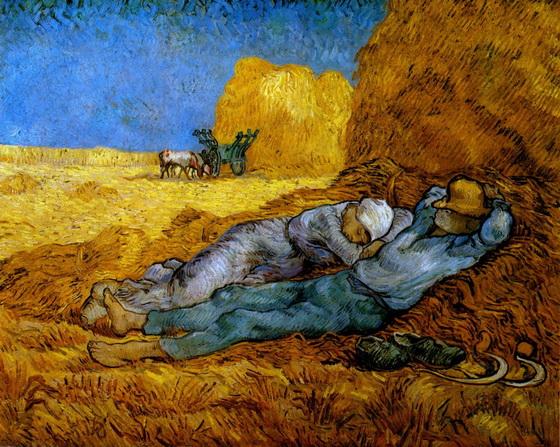 Work Rest van Gogh