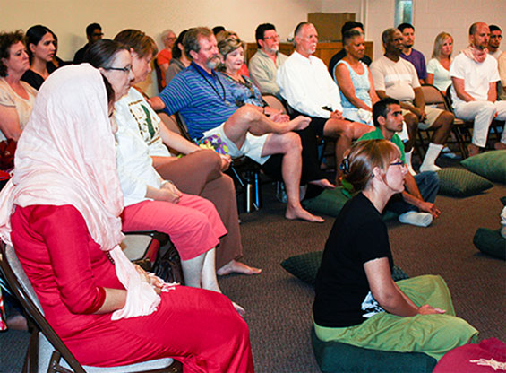 Meeting at Osho Fort Worth