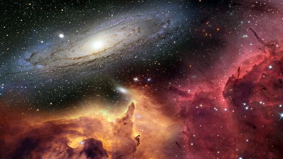 Universe Space Nebula Stars