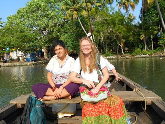 Kavya-on-travels
