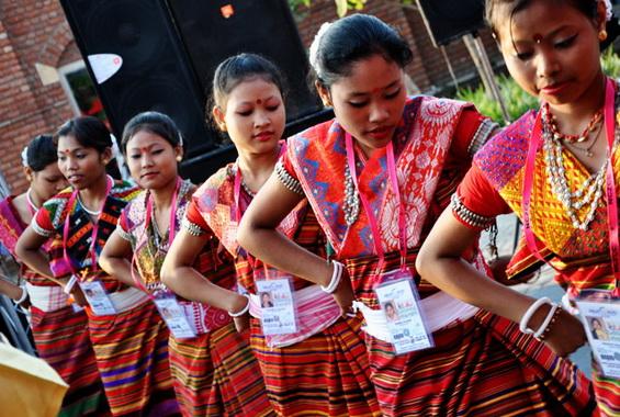 Khasis Folk Dance