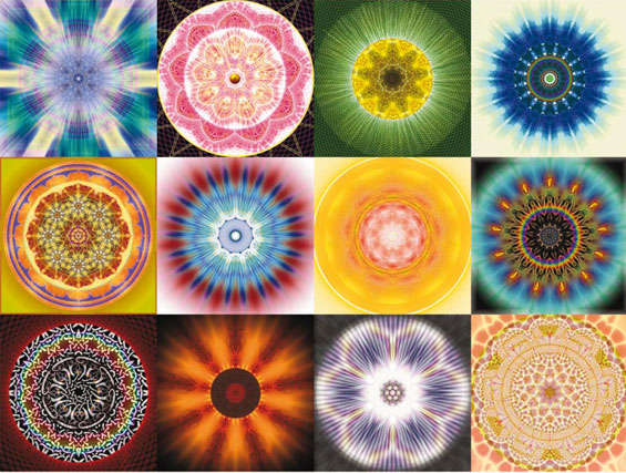 Mandala Calendar by Visual Alchemy