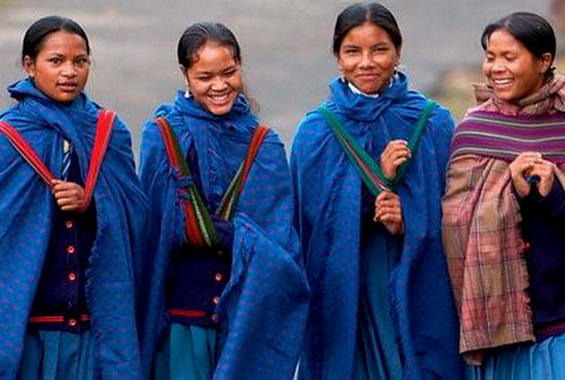 Young Khasi Girls