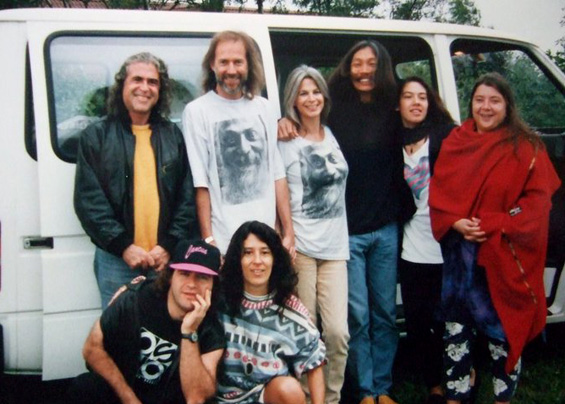 1994 Risk on Tour Band (with Maneesha)