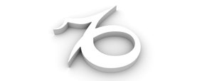 White capricorn symbol