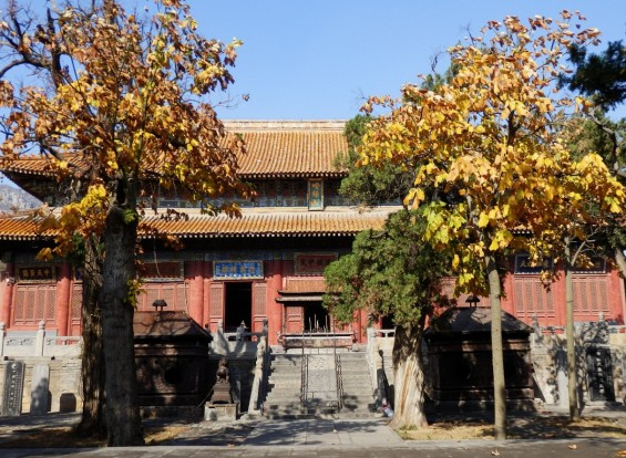 2. Main Hall. Biggest all wood structure in Henan Province