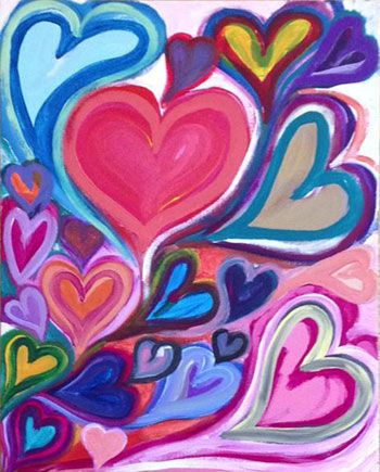 Hearts by Amelia Campbell