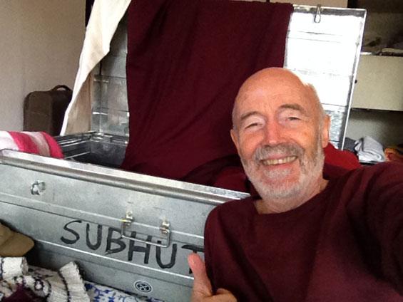 selfie with storage trunk