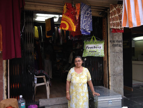 Arti and her shop