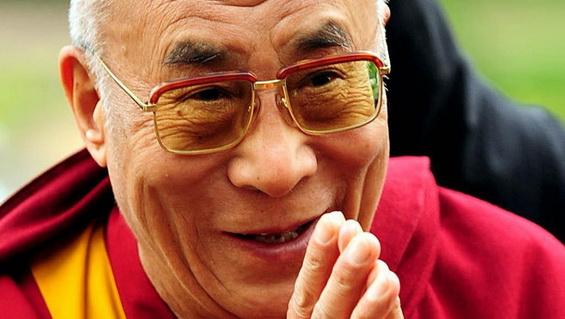 Dalai Lama Smiling