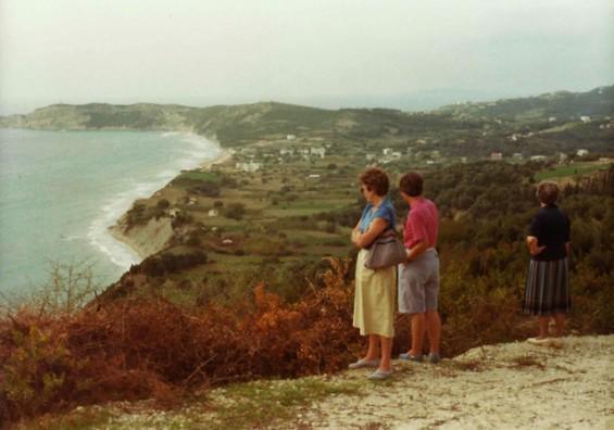 Arillas panoramic, 1980s