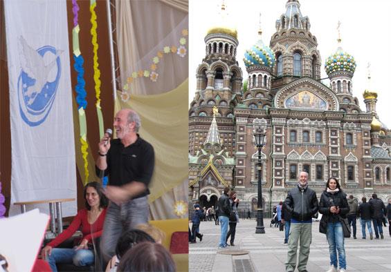 Avikal teaching and snapshot in Russia