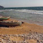 Fishing boats on Arillas beach