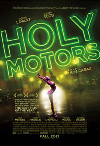 Holy Motors DVD cover