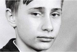 Vladimi Putin as young