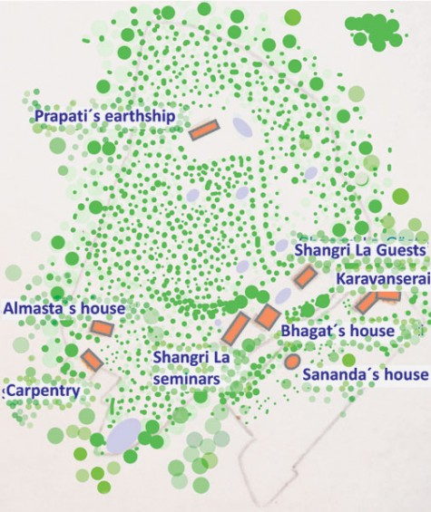 Find your way through the Shangri La compound