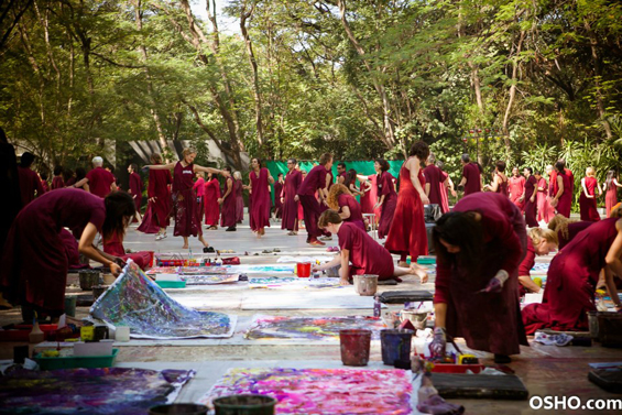 Meera art workshop in Buddha Grove