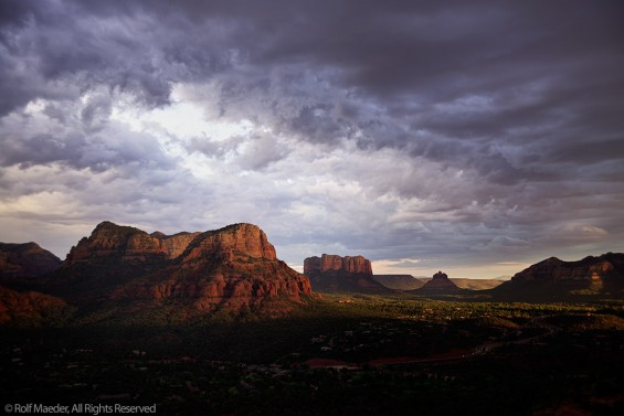 Sedona Cloud Drama 1