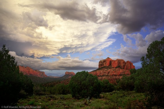 Sedona Cloud Drama 2