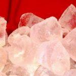 Ice in Freezer