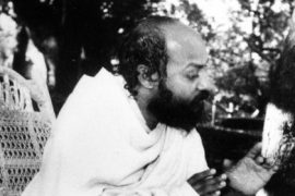 Osho Speaking in Garden F