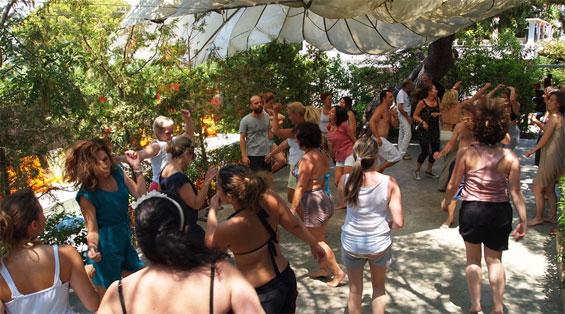 dancers at Serendipity Athens