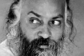 Osho looking to right Feat.
