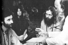 Siddha taking sannyas