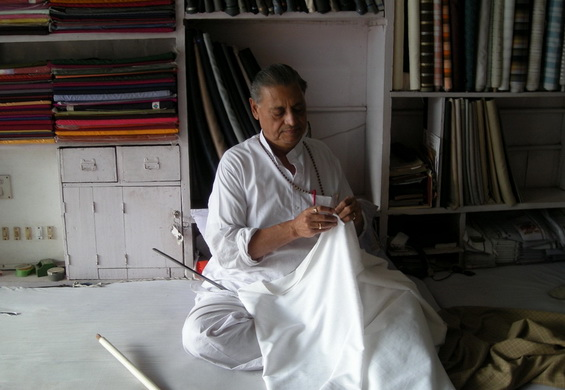 Osho's cousin in cloth stor