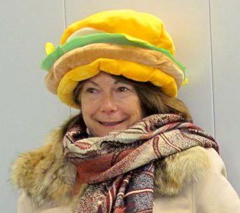 Satpriti with hat