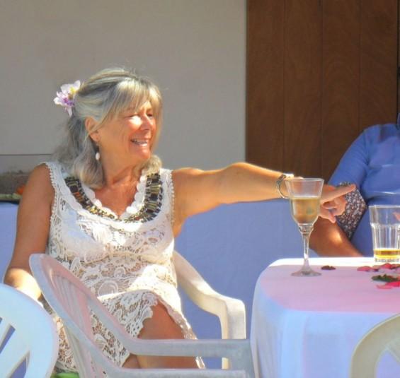 at Anutoshos birthday party