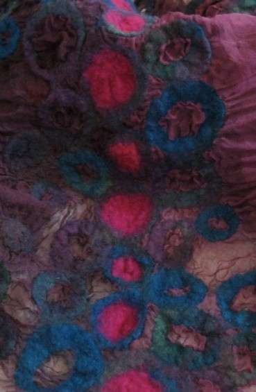 silk and wool scarf