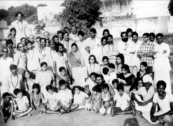 Meditation Camp in Rajasthan when I was 6