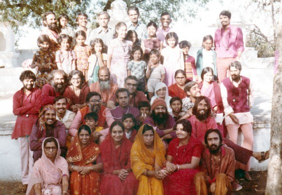 Meditation Camp in Rajasthan when I was 9