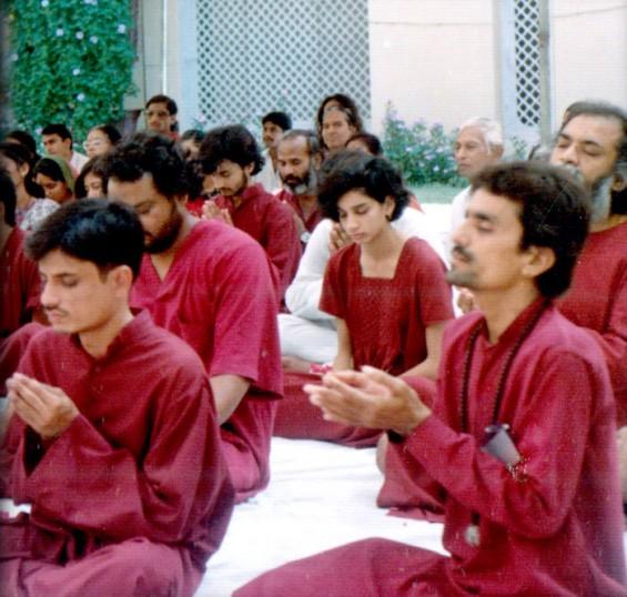 Meditation in Rajasthan at age 19