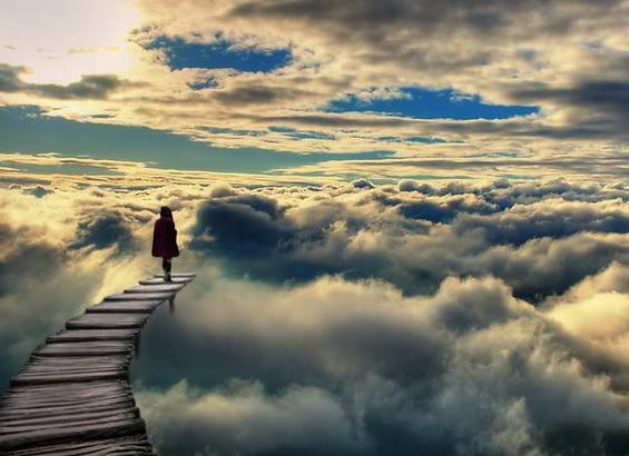 Walking in Clouds