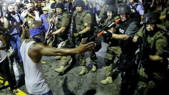 Ferguson Standoff